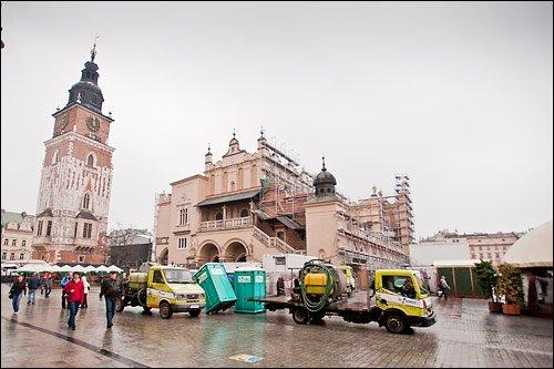 Kraków wynajem toalet przenośnych