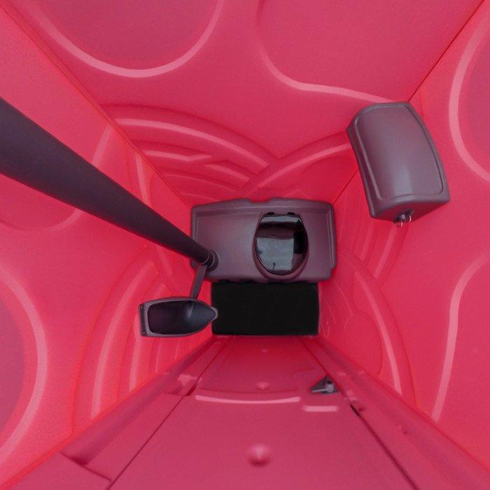 toaleta przenośna różowa