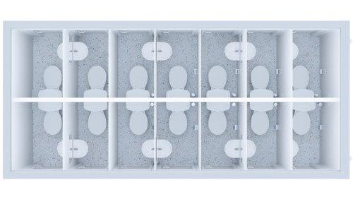 Kontener Sanitarny Premium 14 Wc / 14 Umywalek