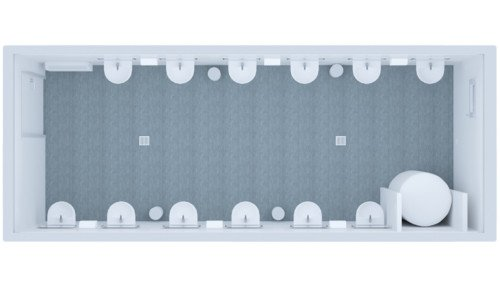 Kontener Sanitarny Standard Umywalkowy