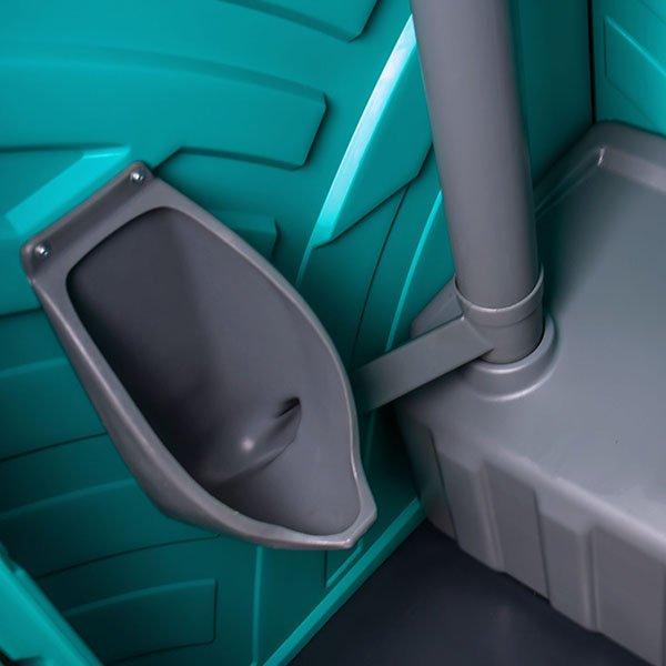 wnętrze toalety przenośnej