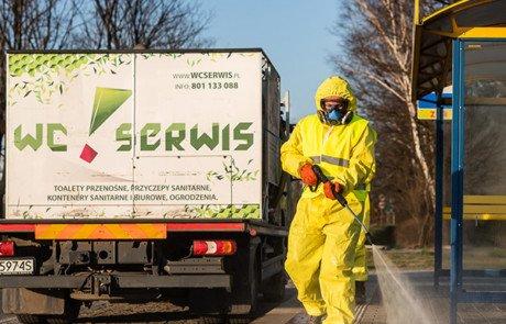 dezynfekcja miast - koronawirus
