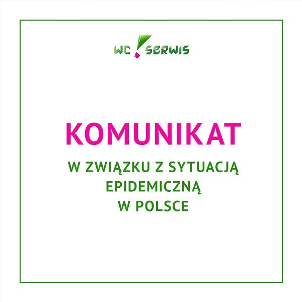 komunikat w związku z sytuacją epidemiczną w Polsce