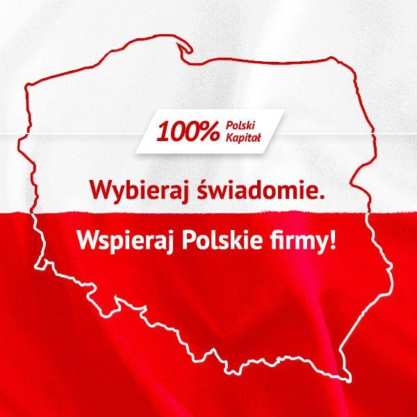 Wybieraj świadomie. Wspieraj Polskie firmy