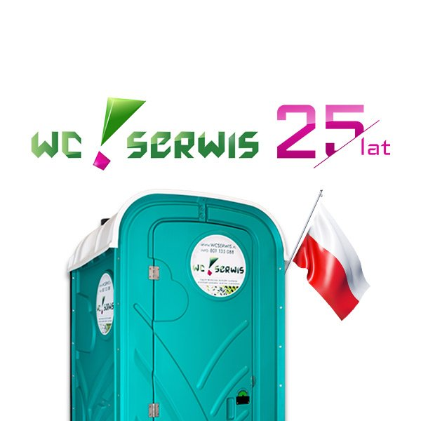 25 lat WC Serwis