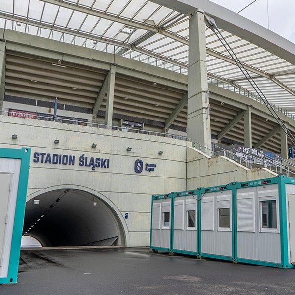 Stadion Śląski - wejście